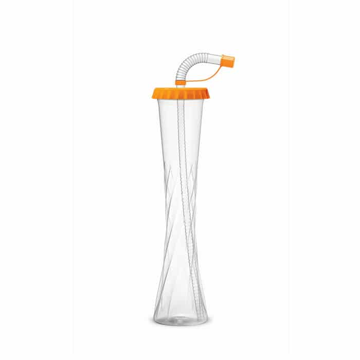 Yard cups 350 ml / 12 oz. kapsel orange