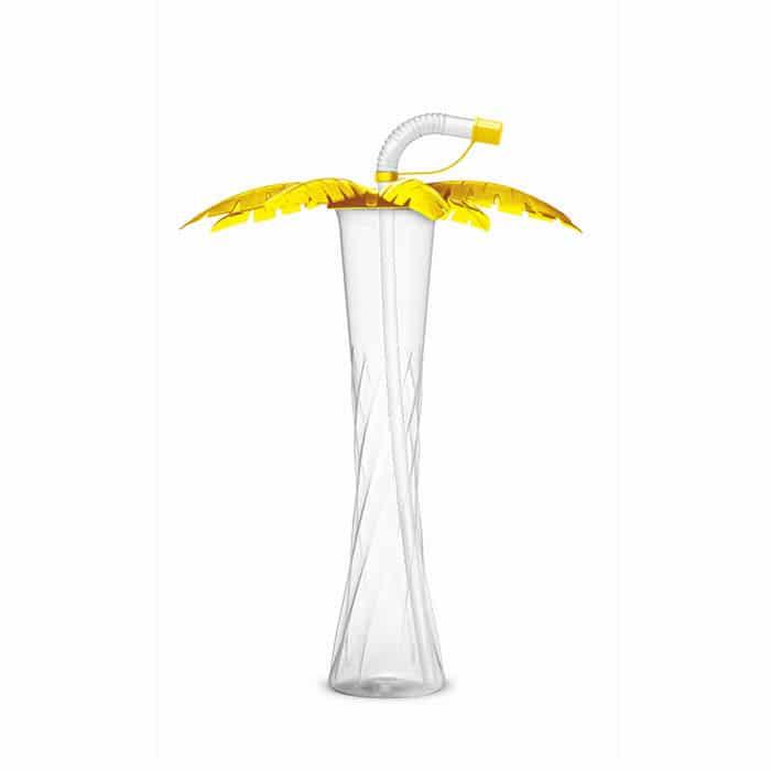 Yard cups 350 ml / 12 oz. palm yellow