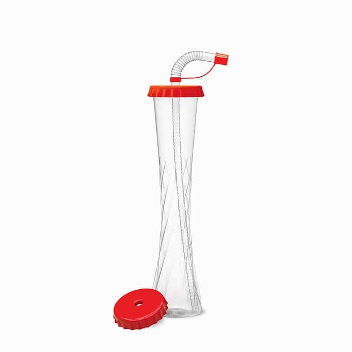 Yard Cups 350 ml kapsel red